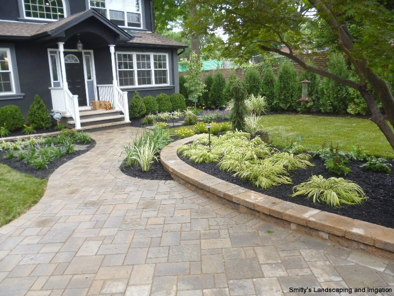 Paver Driveway - Landscaping - Smitty's Landscaping Cedar Grove, NJSmitty's